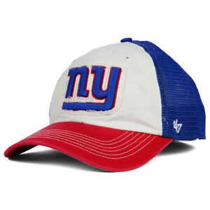Details about New York Giants NFL  47 NFL Privateer Closer Cap Hat  Stretch-Fit MeshBack NY NYG d3f15bd1cb7