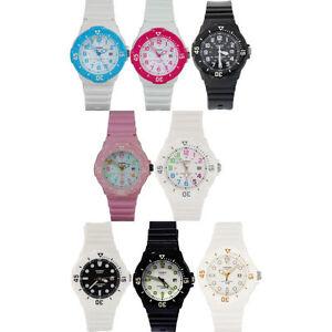 Casio-Ladies-Watch-LRW-200H-Divers-Estilo-Grueso-Bisel-opcion-de-8-vendedor-del-Reino-Unido