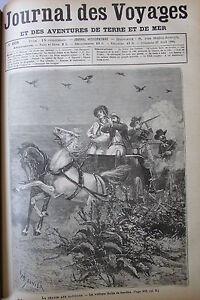 Zeitung-der-Voyages-Nr-668-von-1890-Amerika-Suedsee-Jagd-Batitous-Siberia-Gold