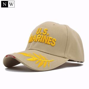Casquette-US-Army-Marines-Reglable-NEUF