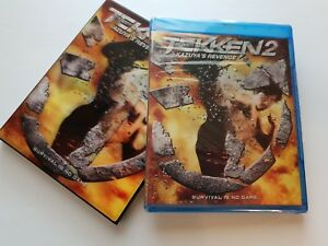 Tekken-2-Kazuya-039-s-revenge-new-blu-ray-disc-lenticular-cover-MARTIAL-ARTS-FIGHT