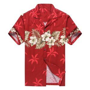 9af081c3 Made in Hawaii Men Hawaiian Aloha Shirt Luau Cruise Party Cross ...