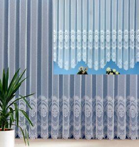 Gardine Vorhang Store Bogenstore Edler Jacquard Mit Schöner Kante