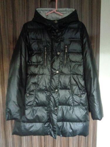 Størrelse Medium Camuto Vince Polstret Black Hooded Duck Puffer Down Coat 8xzwxaqO1