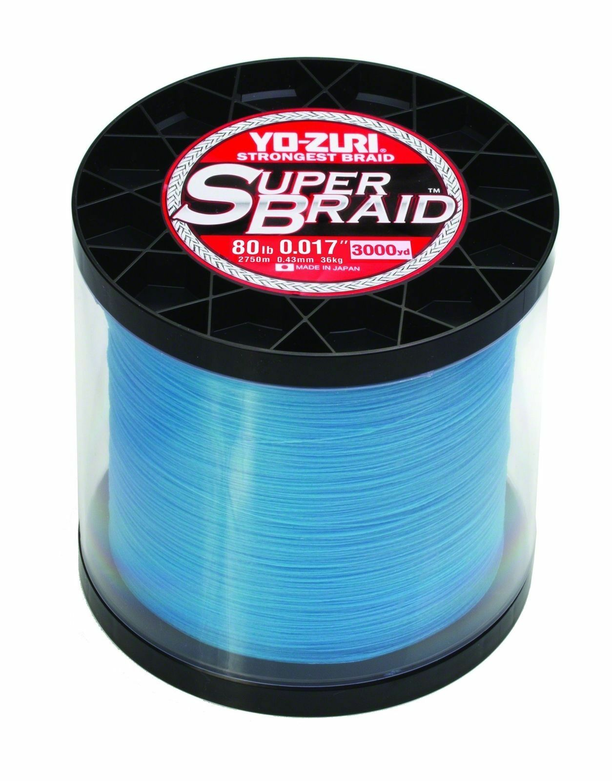 New Yo-Zuri YZ SB 80LB BL 3000YD SuperBraid Line, 80lb Test, 3000yd