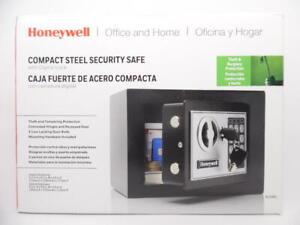 Honeywell Digital Compact Steel Security Safe for Office & Home .17 cu ft 815005