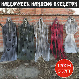 170cm-Halloween-Opknoping-Spook-Spookhuis-Skull-Escape-Horror-Haunted-House