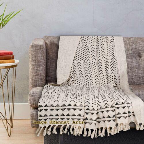 Turkish Cotton Throw Blanket Soft Handmade Bedspread Beach Towel Sofa Coverlet