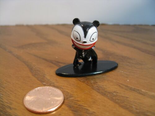 Scary Teddy Miniature Figurine Nano Metalfigs Nightmare Before Christmas