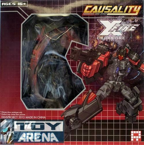 Fansproject Causality CA-10 T-Bone Action Figure Transformers