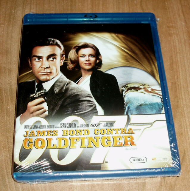 JAMES BOND CONTRA GOLDFINGER 007 BLU-RAY NUEVO PRECINTADO (SIN ABRIR) A-B-C