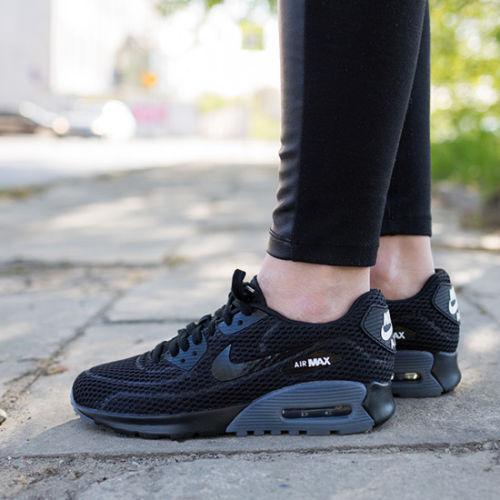 Donna, nike air max 90 ultra - scarpe nuove, di colore grigio 725061-002