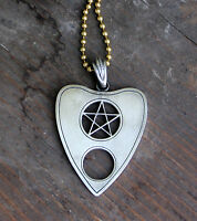 Planchette Necklace - Spirit Board Ouija Occult Ghosts Paranormal