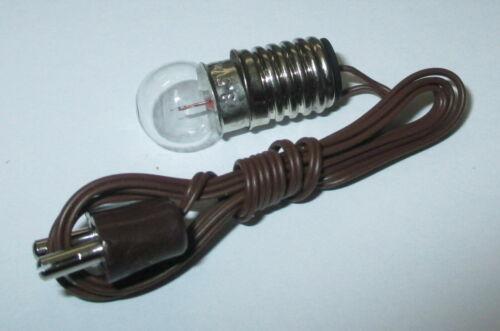 Beleuchtung Fassung E10   3,5 Volt    *NEU//OVP* Kahlert