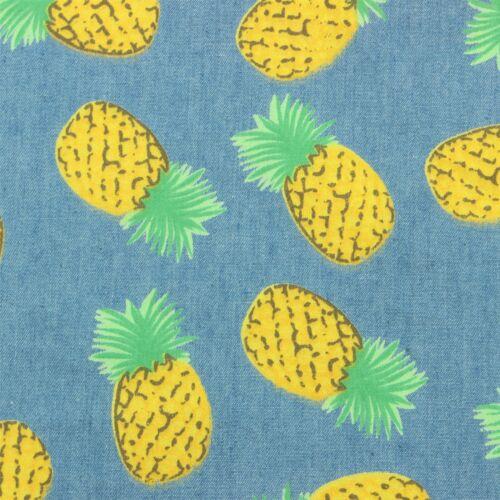 Loud Psichedelico Camicia Giallo Uomo Misura Rétro Ananas Blu Fatto Su FwCndAqP