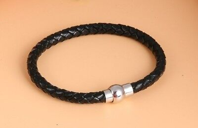 Bracelets Cuir Bangles Femme Homme Croix Manchette Bijoux Jésus Idée Cadeau Mode