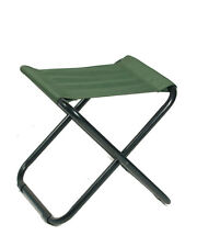 Mil-Tec Klappstuhl ohne Lehne Klapphocker Campinghocker Campingstuhl Stuhl Oliv