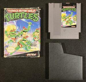 Teenage-Mutant-Ninja-Turtles-w-Box-Nintendo-NES-tested-original-authentic