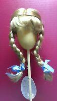 Vintage Antique Doll Wig Jessica Playhouse Blonde 10-11 12-13 14-15 Braids