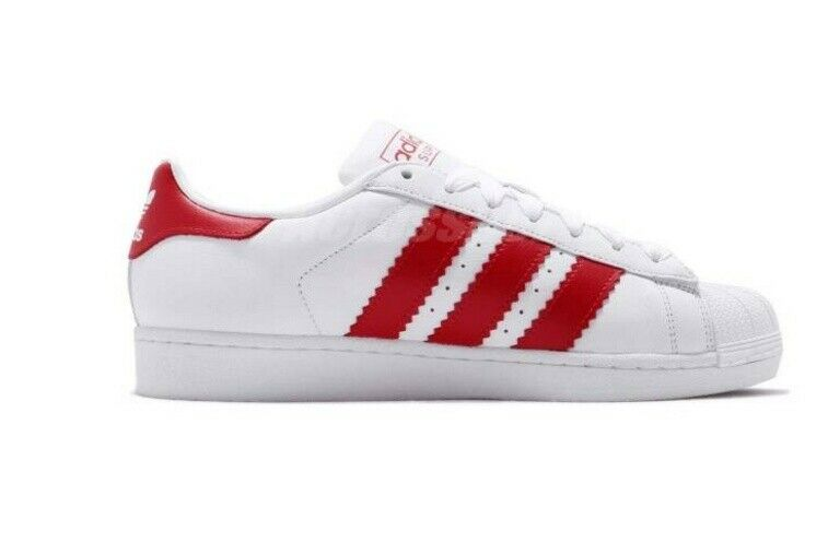 ADIDAS SUPERSTAR BD7370 MEN'S WHITE LEATHER