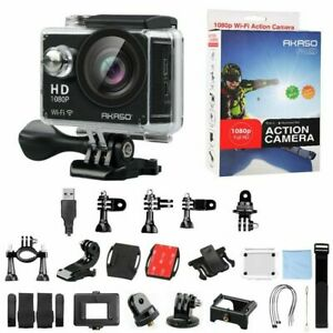 Akaso Sports Action Camera DV DVR wide-angle HDMI WIFI 12MP Camcorder Waterproof