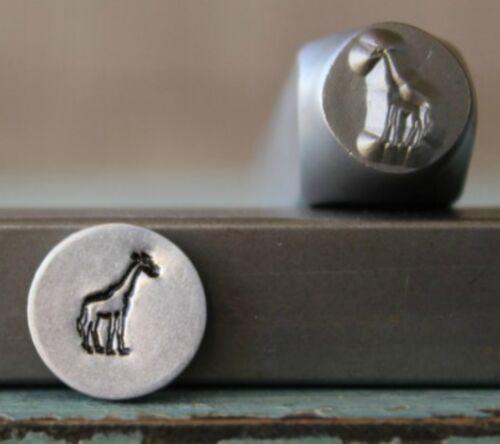 SUPPLY GUY 8mm Mama Giraffe Metal Punch Design Stamp SGCH-320