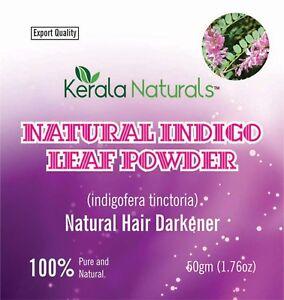 pure-and-fresh-150-gms-indigo-powder-natural-hair-color-dye-Free-Shipping