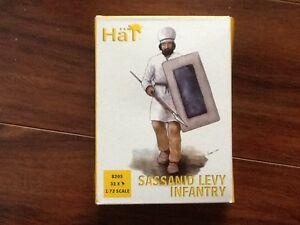 HAT INDUSTRIES 1/72 SASSANID LEVY INFANTRY 32 FIGURES # 8205 BRAND NEW