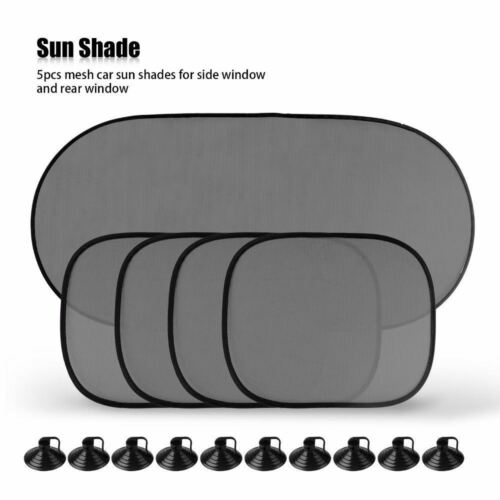 Car Side Window Rear Window Sun shade Sunshield Blind Mesh Anti-UV Visor UK FAST