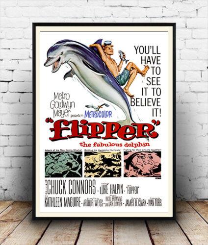 Film Poster reproduction Flipper