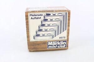 8978 Ponts Pilier Phrase Allée Märklin Piste Z Neuf Dans Sa Boîte + Top +-afficher Le Titre D'origine Sans Retour