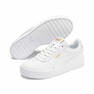 PUMA-Women-039-s-Carina-Lux-Leather-Sneakers
