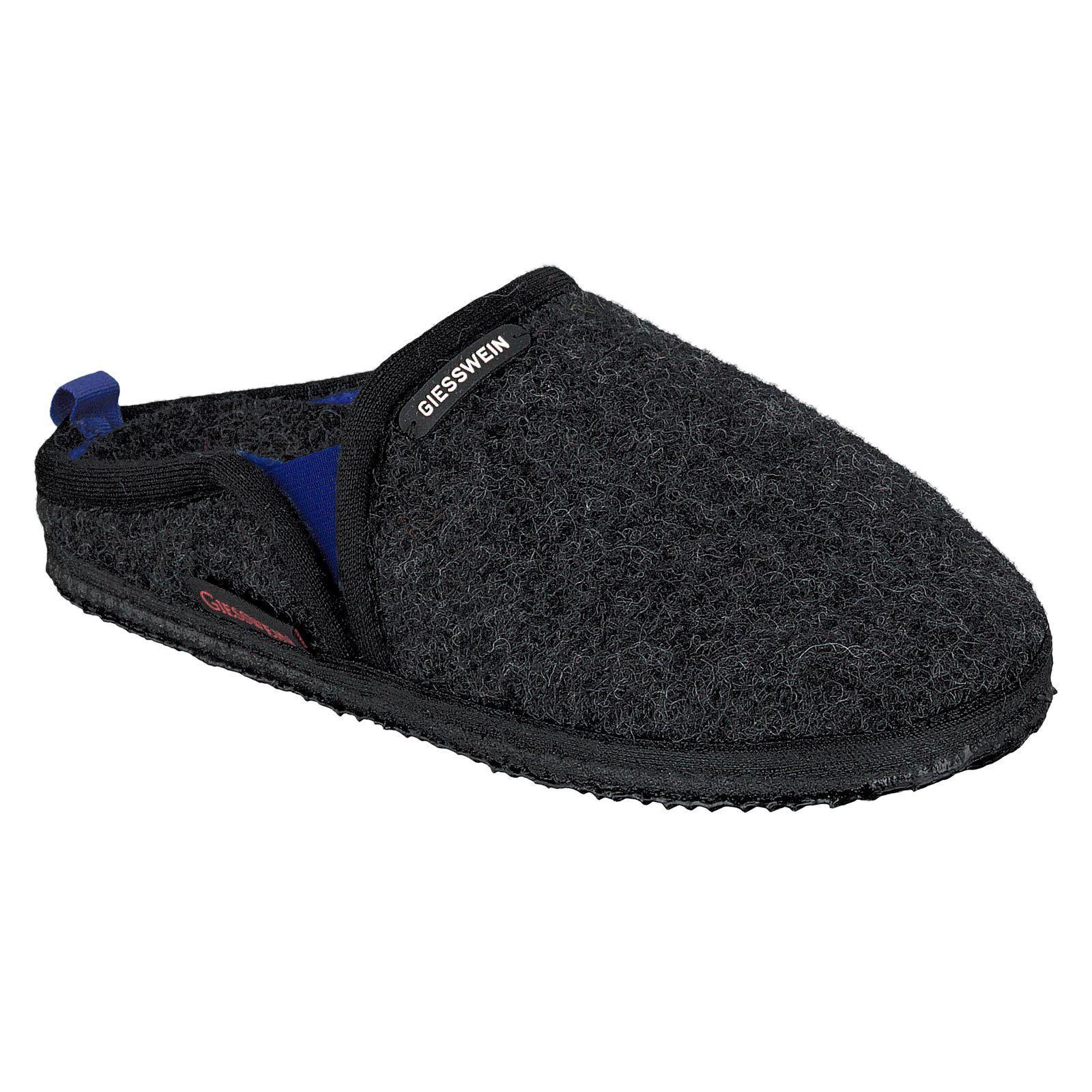 Giesswein Nieden Anthracite Damenschuhe Wool Open Mules Back Slide Schuhes Slippers Mules Open 5233cf
