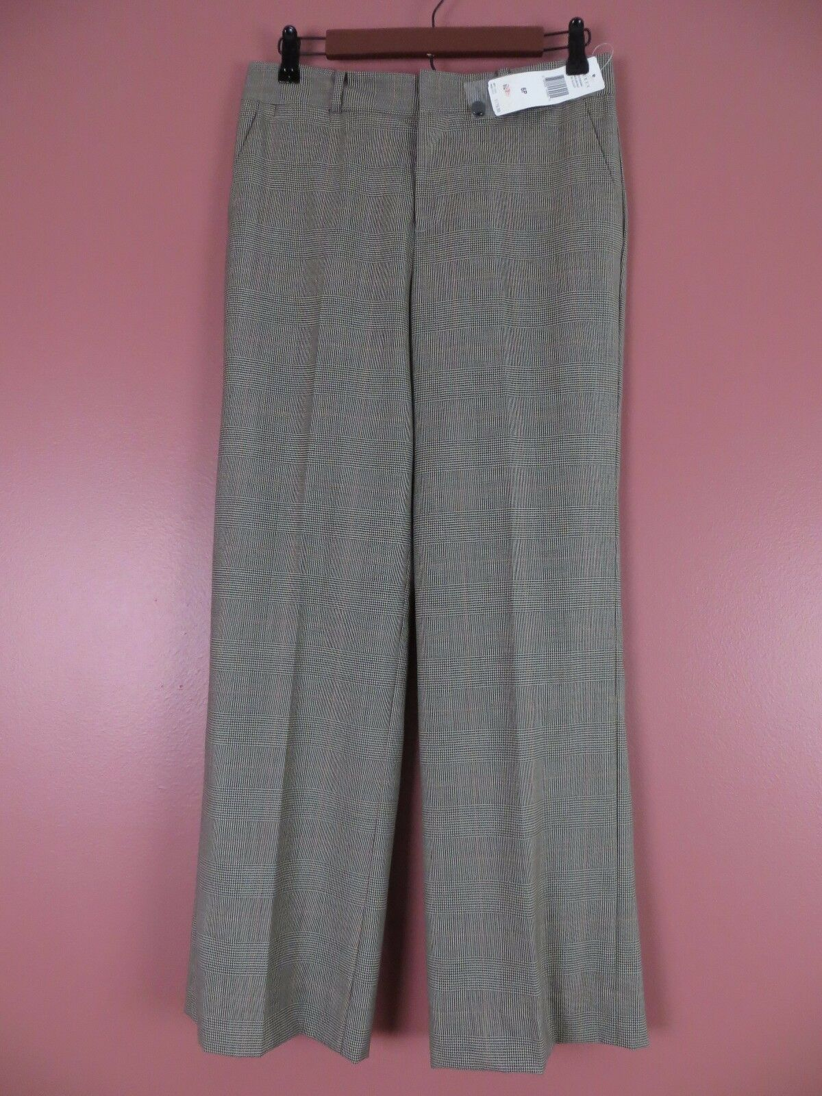 PNS0517- NWT RALPH LAUREN Woman 100% Seasonless Wool Dress Pants Plaids 6P