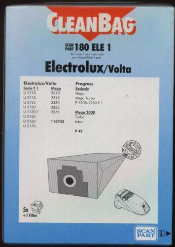 11 Staubbeutel für Progress P42 InfraTurbo Exclusiv Mega Electrolux Serie F1 V2F
