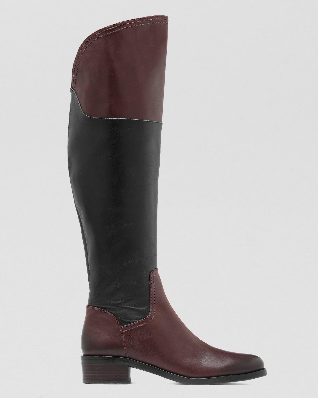 Alto para mujer Vince Camuto vatero Negro Castaño Castaño Castaño Suave botas de piel de becerro  229  suministro directo de los fabricantes