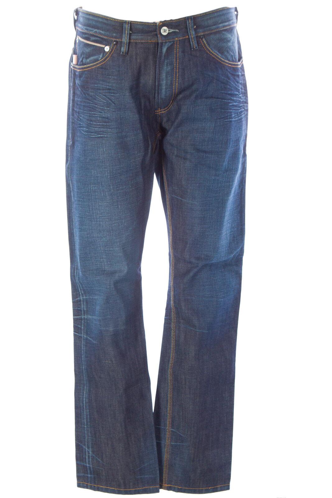 Blu Sangue Uomo Aim Cs Jeans Jeans Mdgs0725 Nuova con Etichetta