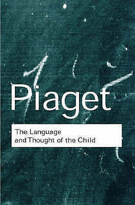 The Language and Thought of the Child by Piaget, Jean (Paperback book, 2001)