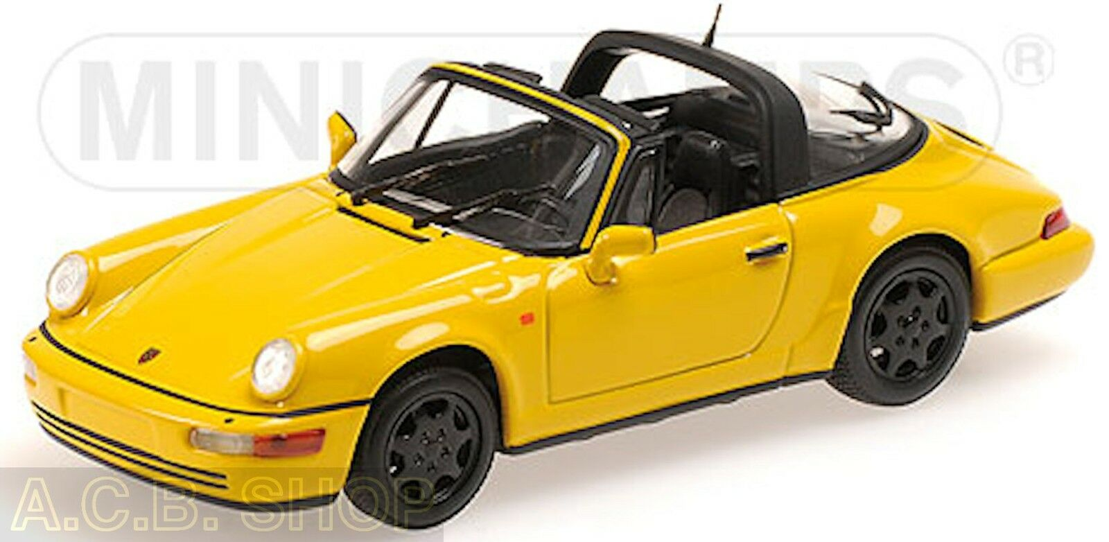 Porsche 911 Targa Tipo 964 1989-94 giallo Speedgiallo 1 43 Minichamps