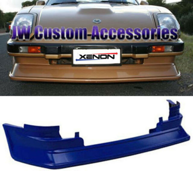 79-83 280ZX S130 Xenon Urethane Front Air Dam w// Brake Ducts Unpainted NEW 3126