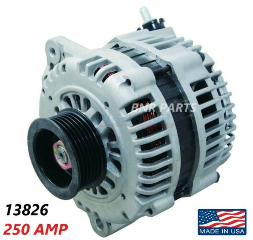 250 Amp 13826 Alternator fits Nissan Maxima Murano High Output HD Performance