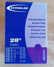 Schwalbe SV17 Bicycle Inner Tube 700c 29er 28 inch LONG 50mm Presta Valve