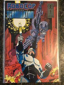 Robocop-Vs-Terminator-Dark-Horse-Comics-1-Of-4