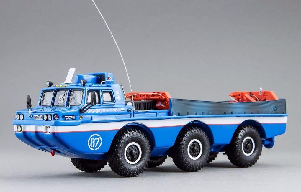 Zil 4906 Blau bird w   crane dip - modelle 1 43 249060