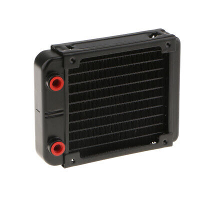MagiDeal G1//4 18 Pipe Heat Exchanger Radiator Water Cool System 240mm