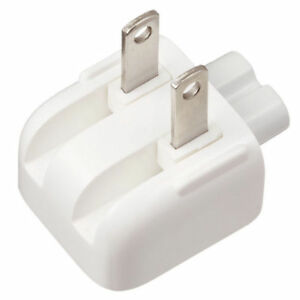 US AC Power Plug Fr Apple MacBook Pro Air Adapter Charger Power Supply Wall Plug
