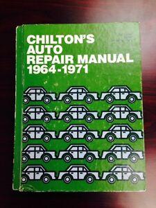 chilton s auto repair manual 1964 1971 ebay rh ebay com chilton's auto repair manual 1971 Haynes Auto Repair Manuals