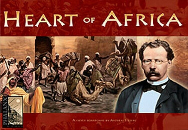 Heart of Africa, Boardgame, Nuovo by Phalanx Games, English