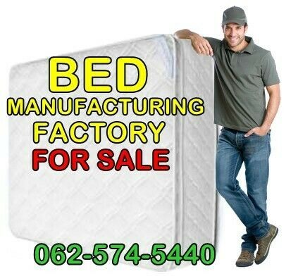 Bed Manufacturing Factory for sale R140 000 equipment