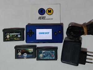 Nintendo Game boy Micro AZUL original